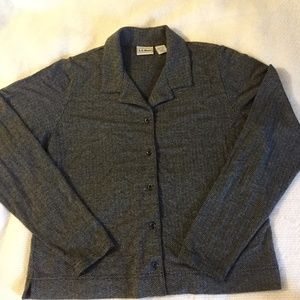 LL Bean Ladies button up shirt